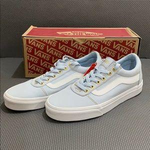 Vans Canvas Powder Blue Sneakers NWT